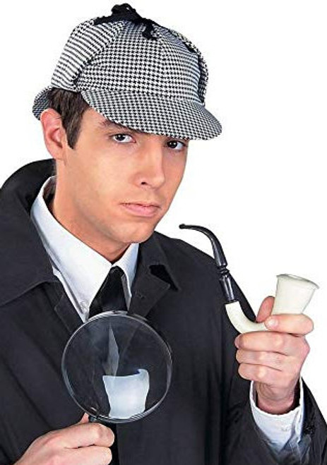 Detective Kit - Hat, Pipe, & Magnifying Glass