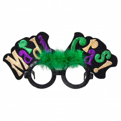 Mardi Gras Glasses