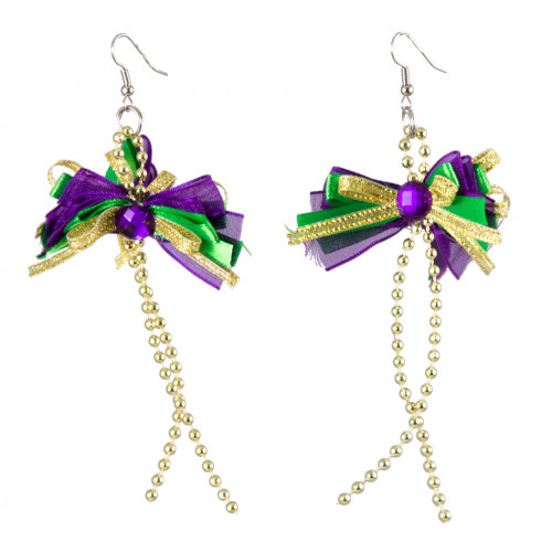 Mardi Gras Earrings