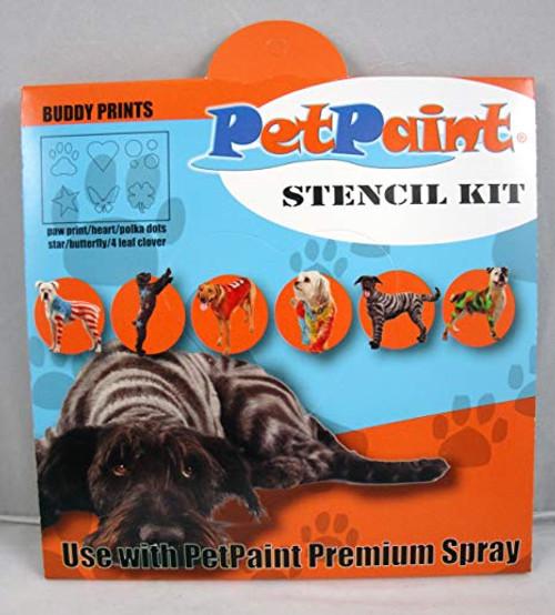 3 Buddy Prints Pet Stencils