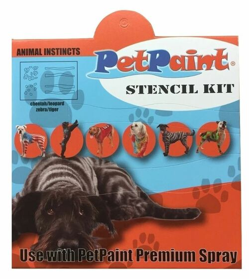 3 Animal Instincts Pet Stencils