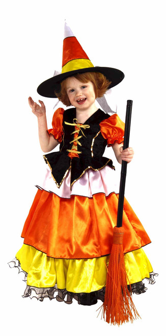 Children's Candy Corn Witch