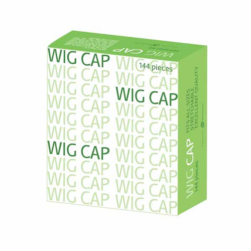 The Costume Shoppe - Beige Nylon Wig Cap - Bulk Box 144pcs