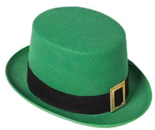 St. Patrick's Day Green Top Hat