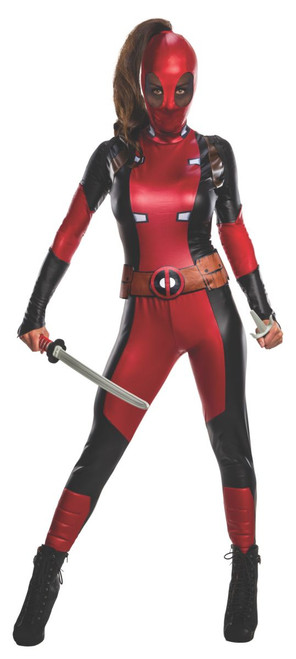 Deadpool Ladypool Full Bodysuit Costume