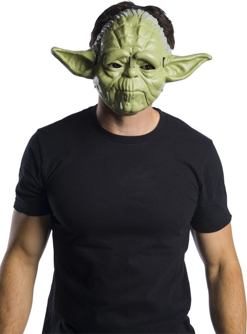 Star Wars Yoda Mask With Movable Jaw