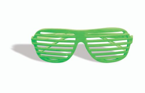 80s Kanye Slot Glasses Green