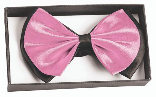 Bowtie In A Box Black & Light Pink