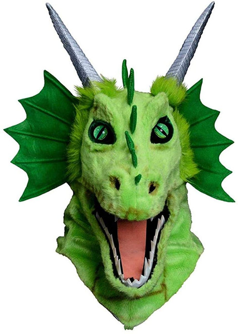 Dragon Head Mouth Moving Mask