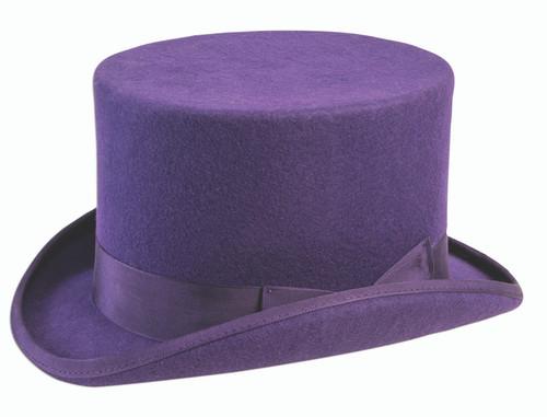 Willy Wonka Purple Top Hat