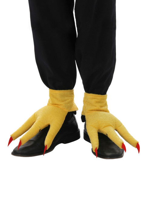 Chicken Feet Creature Cuffs Boot Covers at The Costume Shoppe