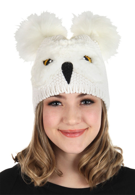 Harry Potter Licensed Hedwig Owl Beanie at The Costume Shoppe