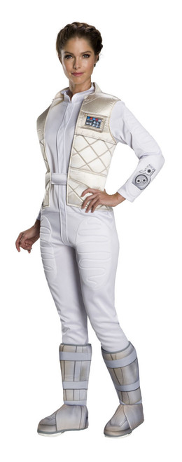 Star Wars Licensed Womens Hoth Princess Leia Costume at The Costume Shoppe