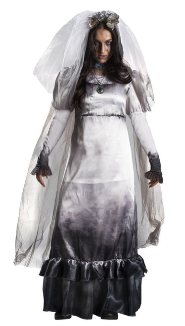 The Curse of La Llorona Womens La Llorona Ghost Bride Costume at The Costume Shoppe