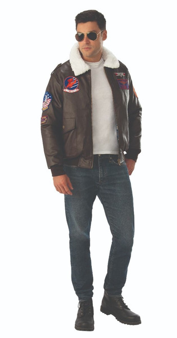 Top Gun Licensed Maverick Bomber Jacket at The Costume Shoppe