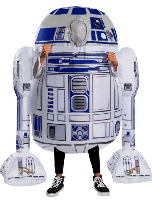 Childrens Star Wars R2-D2 Inflatable Costume at The Costume Shoppe