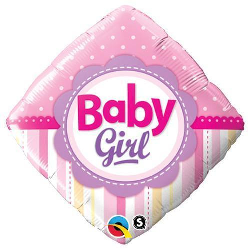 Foil Baby Girl Celebration Balloon at The Costume Shoppe