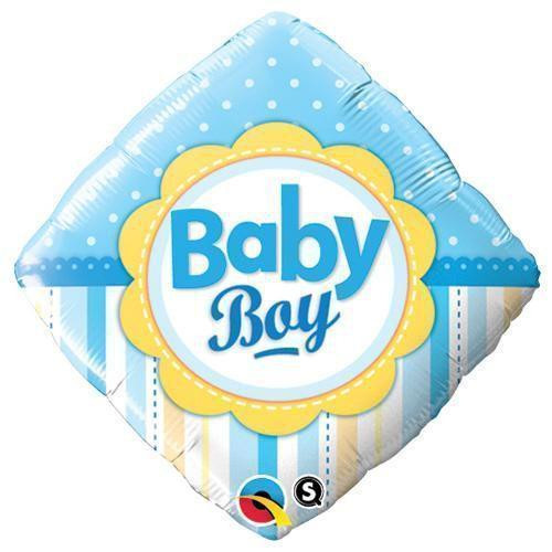 Foil Baby Boy Celebration Balloon at The Costume Shoppe