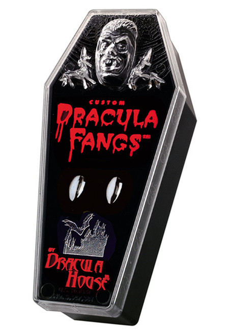 Dracula Vampire Chrome Plated Fangs