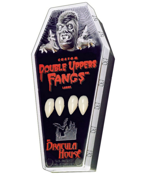 Dracula Vampire Double Upper Fangs