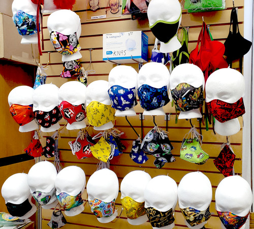 Non-Medical Fabric Face Masks at The Costume Shoppe (Assorted Themes)