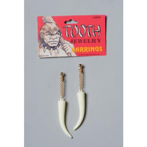 Stoneage Saber Tooth Earrings