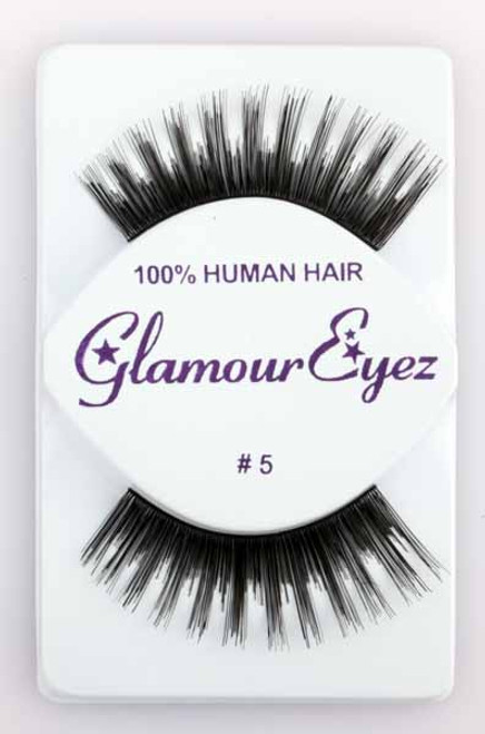 Black #5 Glamour Eyez Eyelashes