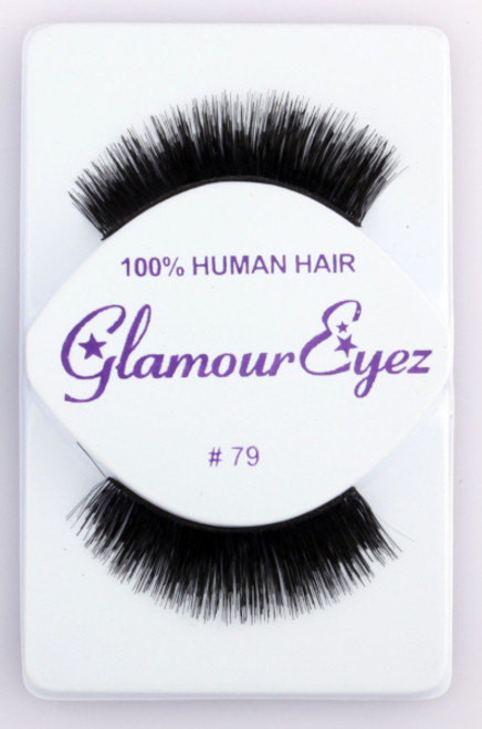 Black #79 Glamour Eyez Eyelashes