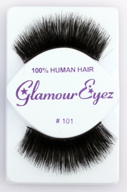 Black #101 Glamour Eyez Eyelashes