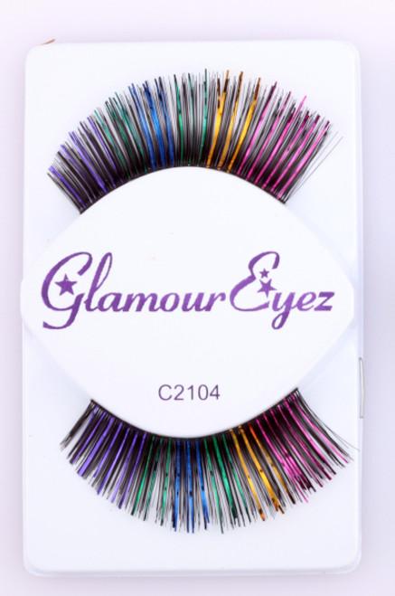 Rainbow Glamour Eyez Eyelashes