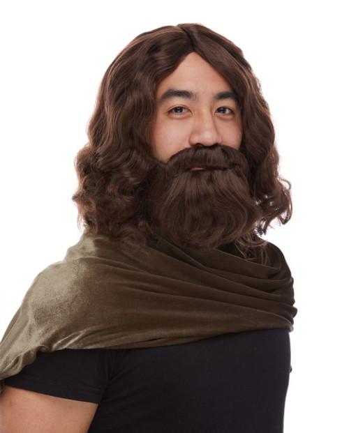 Biblical Jesus or Moses Wig & Beard