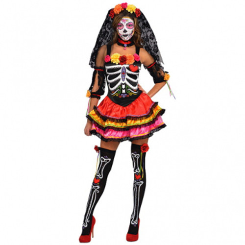 Day Of The Dead Senorita - At The Costume Shoppe