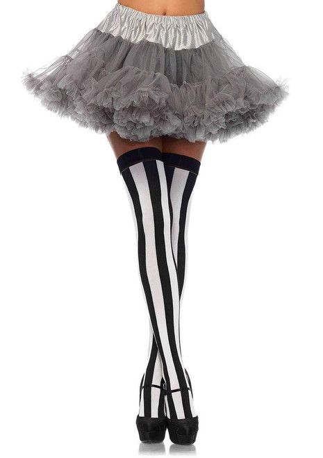 Grey Tulle Standard Costume Petticoat - At The Costume Shoppe