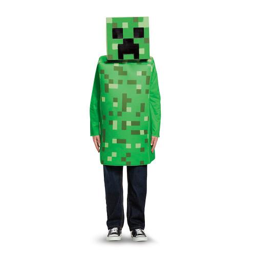 Children's Creeper Minecraft Costume