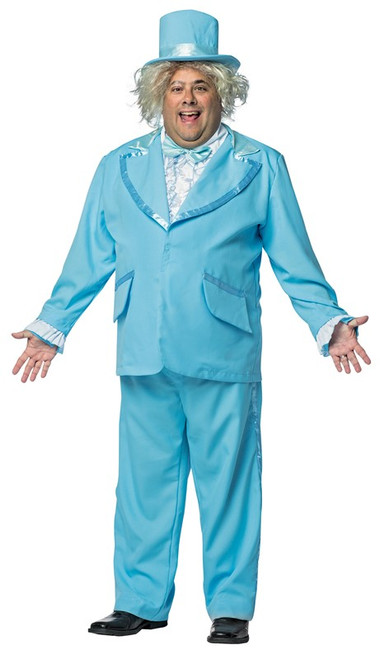 Plus Dumb and Dumber Blue Tuxedo Costume - At The Costume Shoppe