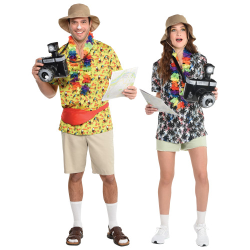 Tacky Tourist Costume Kit - At The Costume Shoppe