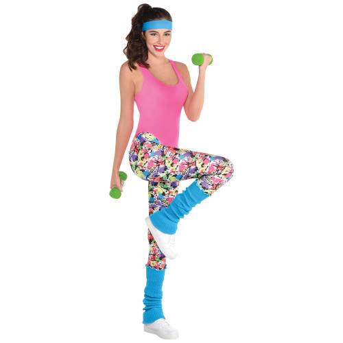 80s Exercise Costume Kit - At The Costume Shoppe