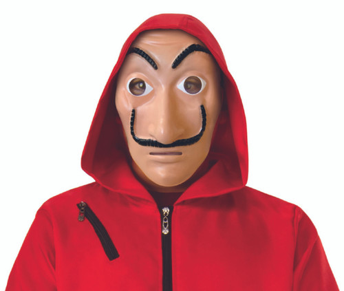 Money Heist Mask - At The Costume Shoppe