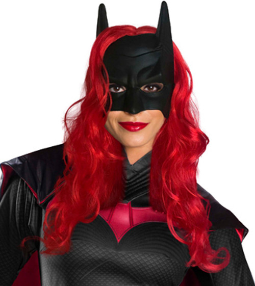Arrow Universe Batwoman Wig and Mask - At The Costume Shoppe