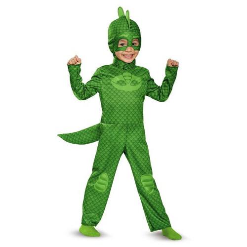 Infants PJ Mask Gekko costume - At The Costume Shoppe