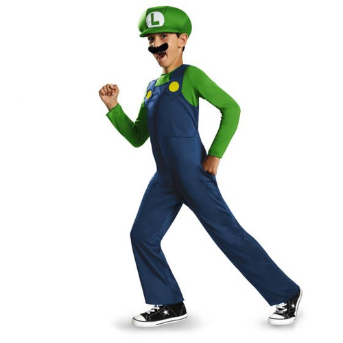 Luigi Brother Childer Luigi - At The Costume Shoppe