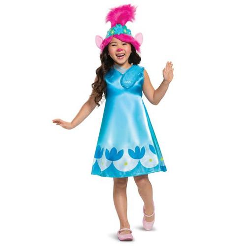 Childrens Trolls 2 poppy costume - At The Costume Shoppe