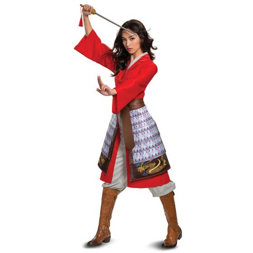 Adult Mulan Hero DLX at the Costume Shoppe
