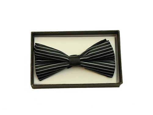Bowtie In A Box Black White at the Costume Shoppe