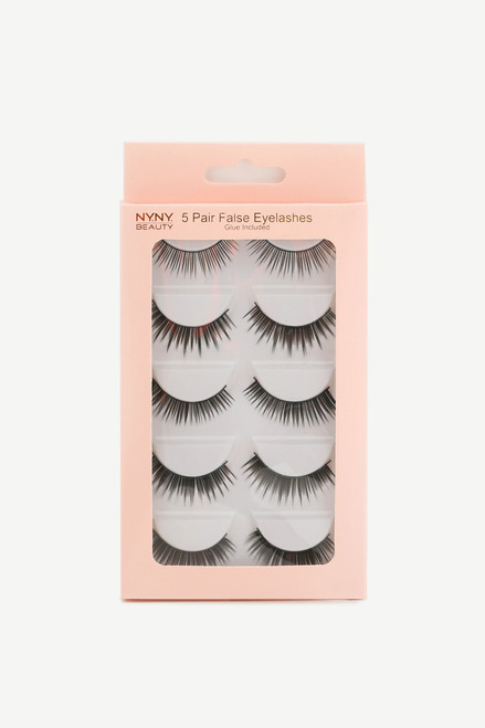 Eyelash 5 Pack Natural
