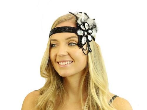 Flapper Headband Gems at the Costume Shoppe