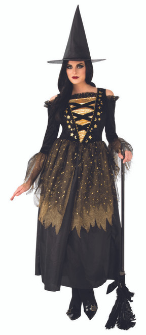 Adult Gold Witch costume