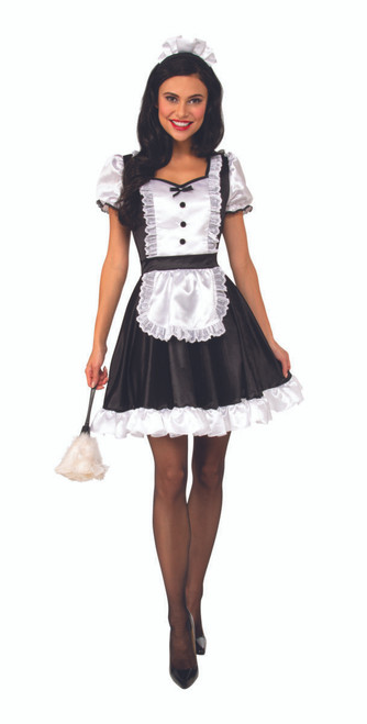 Adult French Maid costumeat the Costume Shoppe