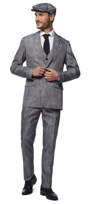 Adult 20's Gangster/grey costume