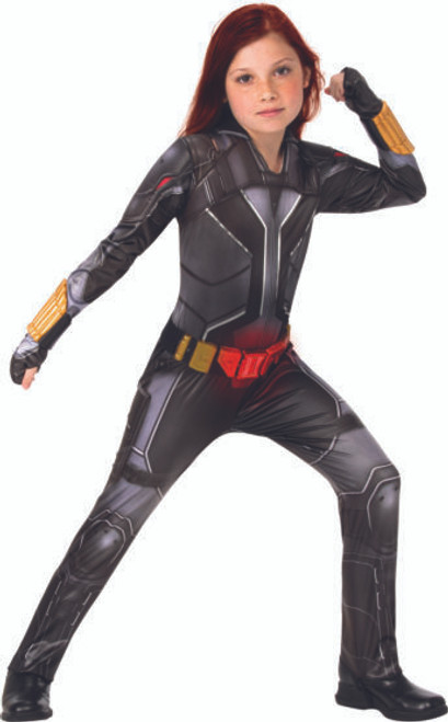 Childerns Black Widow DLX costumeat the Costume Shoppe